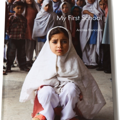 The cover of 'My first School'