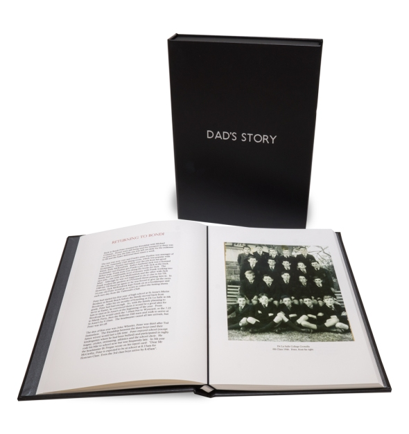 Dad's Story by Anne McPhee with Lay-flat Paper