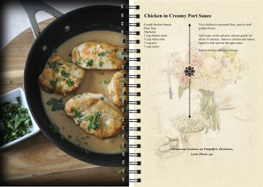 Recipes for Rebecca © Deidre Cassidy