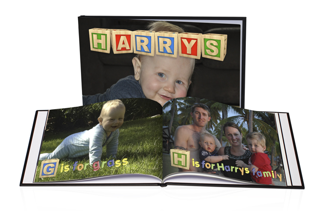 Harrys Alphabet Book